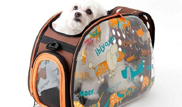 931ff5a634d3 Мягкая сумка – переноска. Мягкая переноска для собак имеет сетчатое окошко  на одной из торцевых сторон, вторая полностью отстегивается, ...